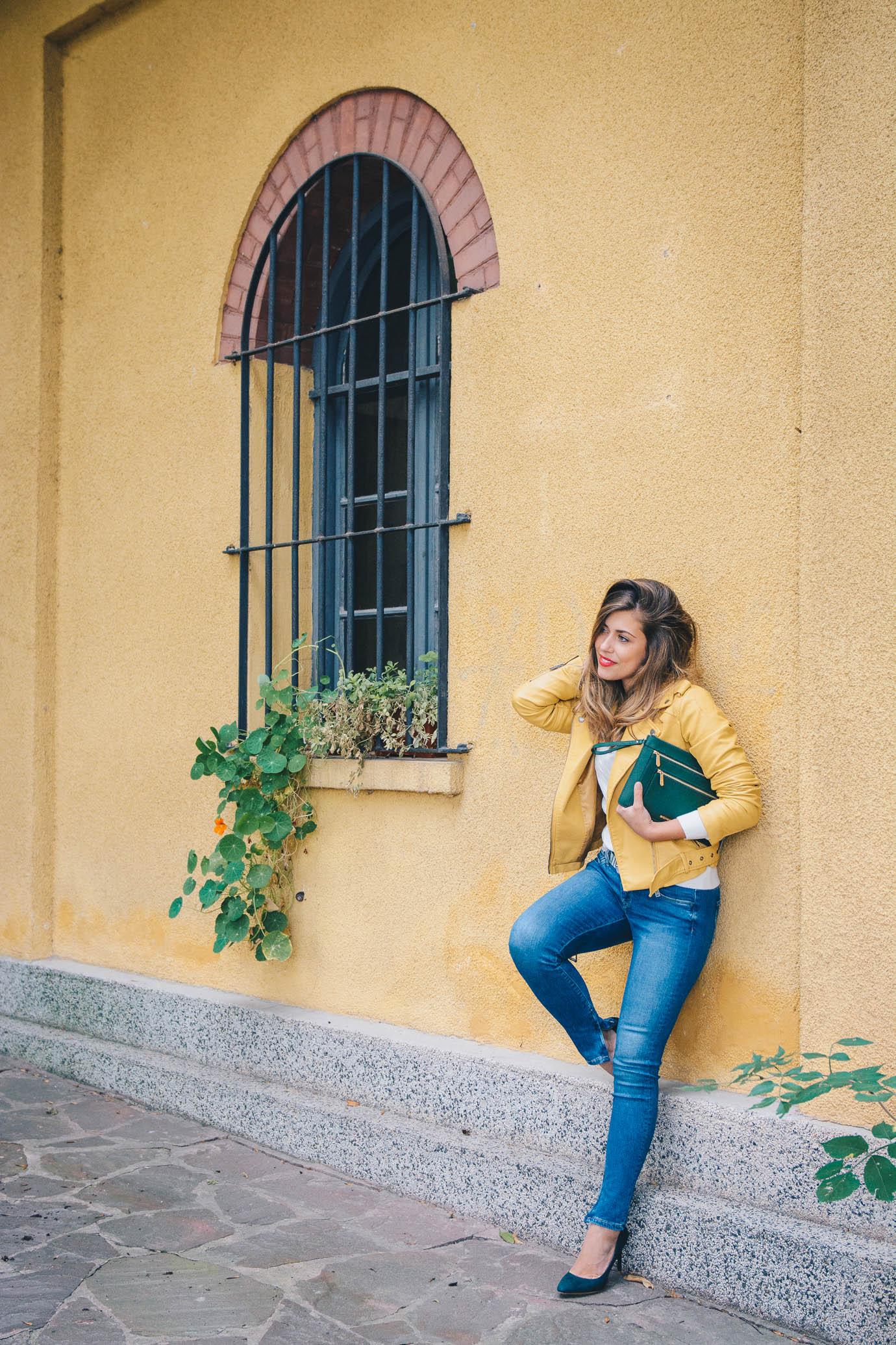 Модният блогър Денина Мартин