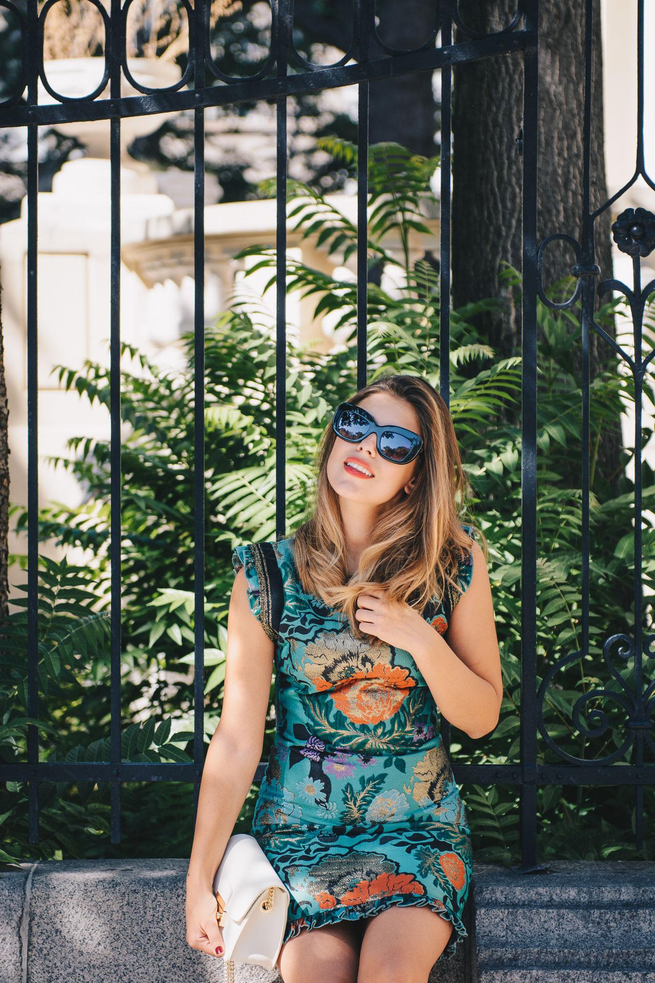 Fall chic blogger