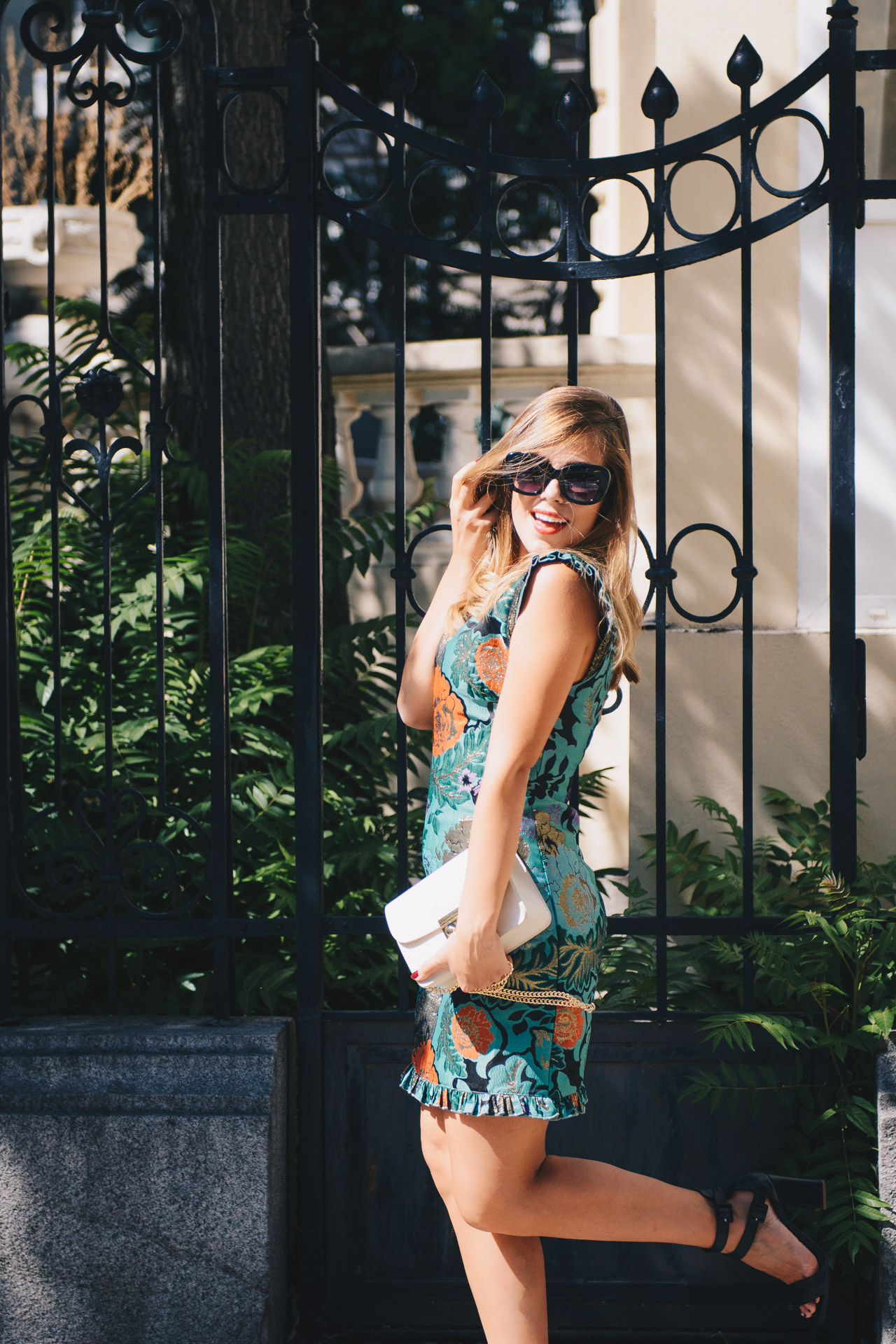 Fall perfect floral dress