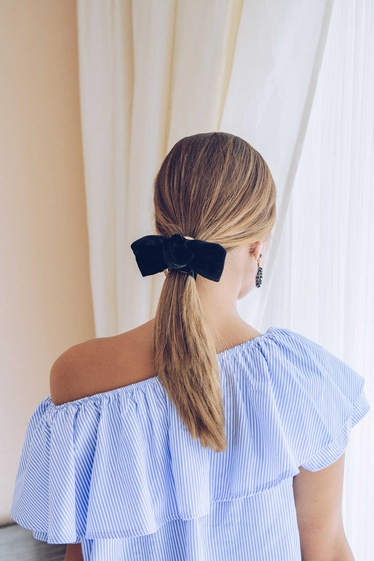 4 hairstyles with a ribbon Loreal professionnel expert look