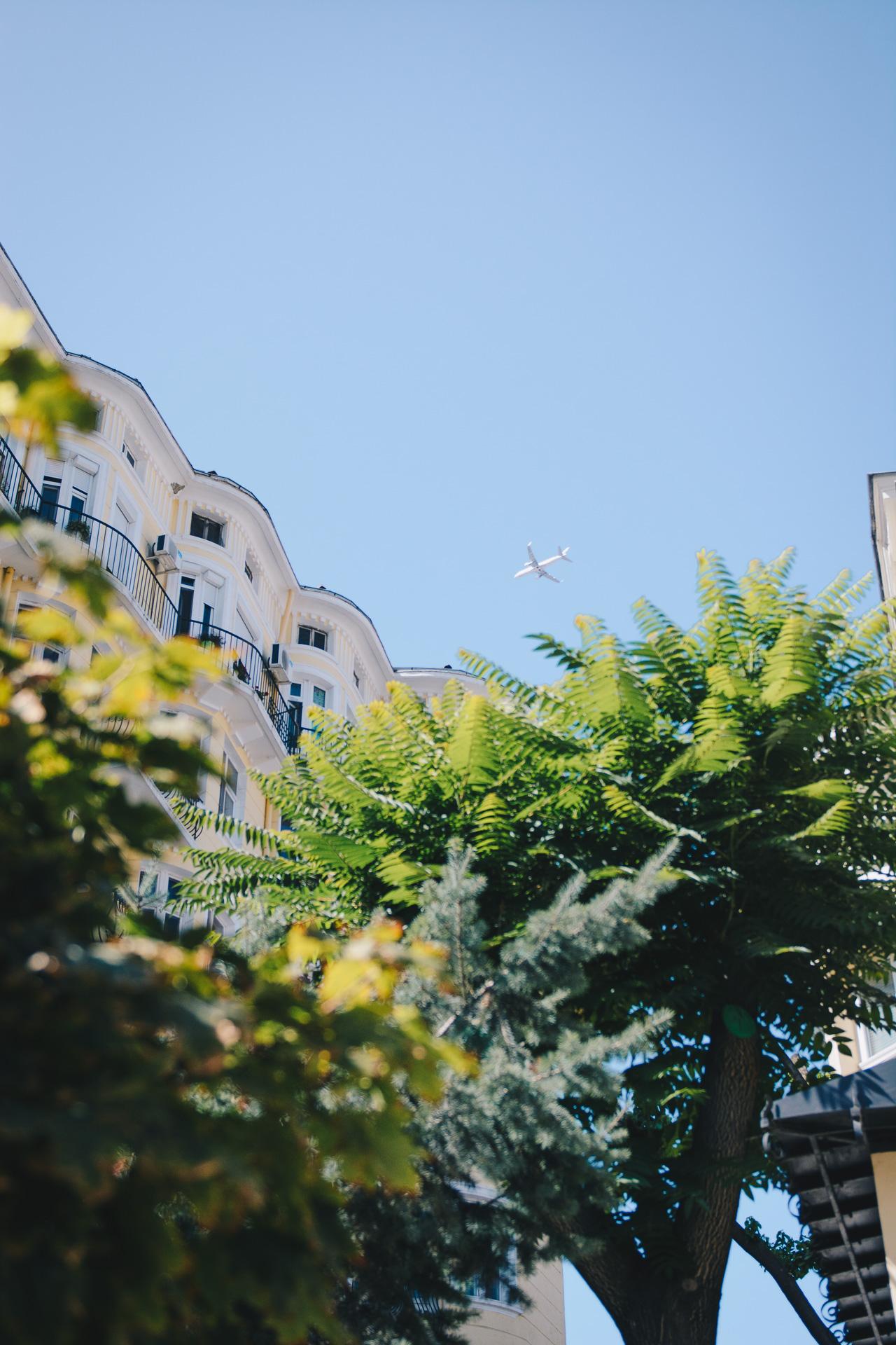 plane above sofia
