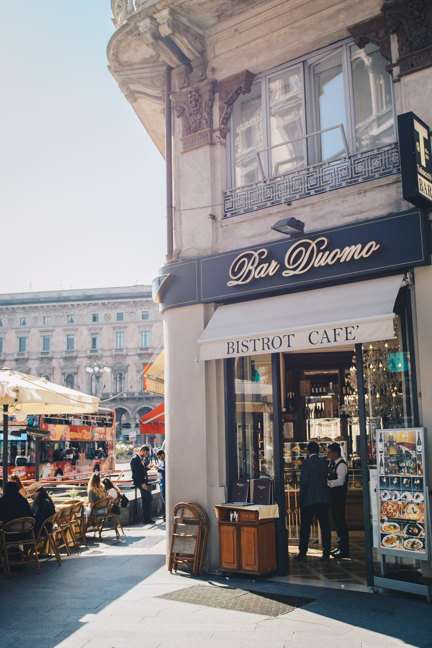 Bar Duomo Milan