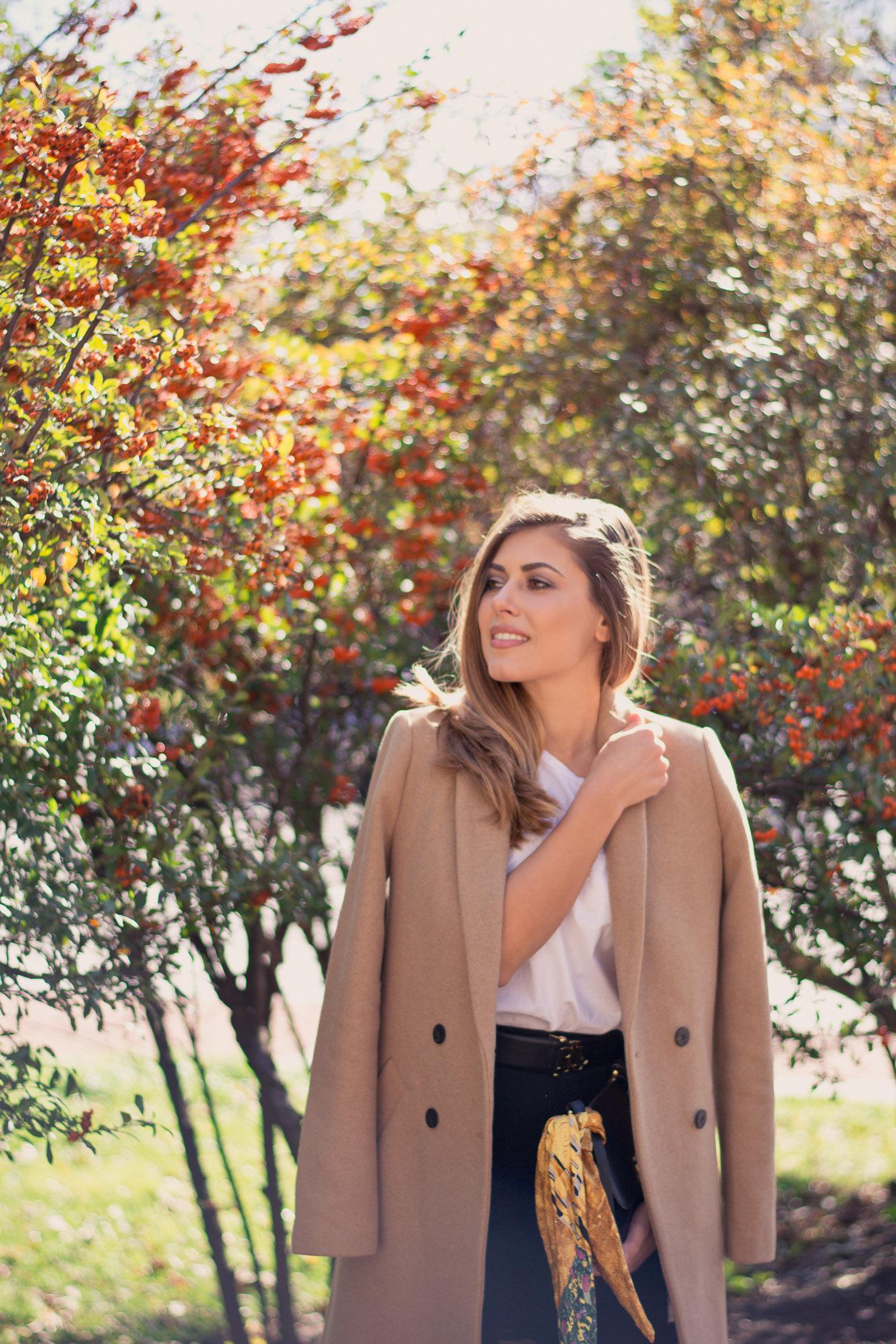 Beauty fashion blogger Denina Martin