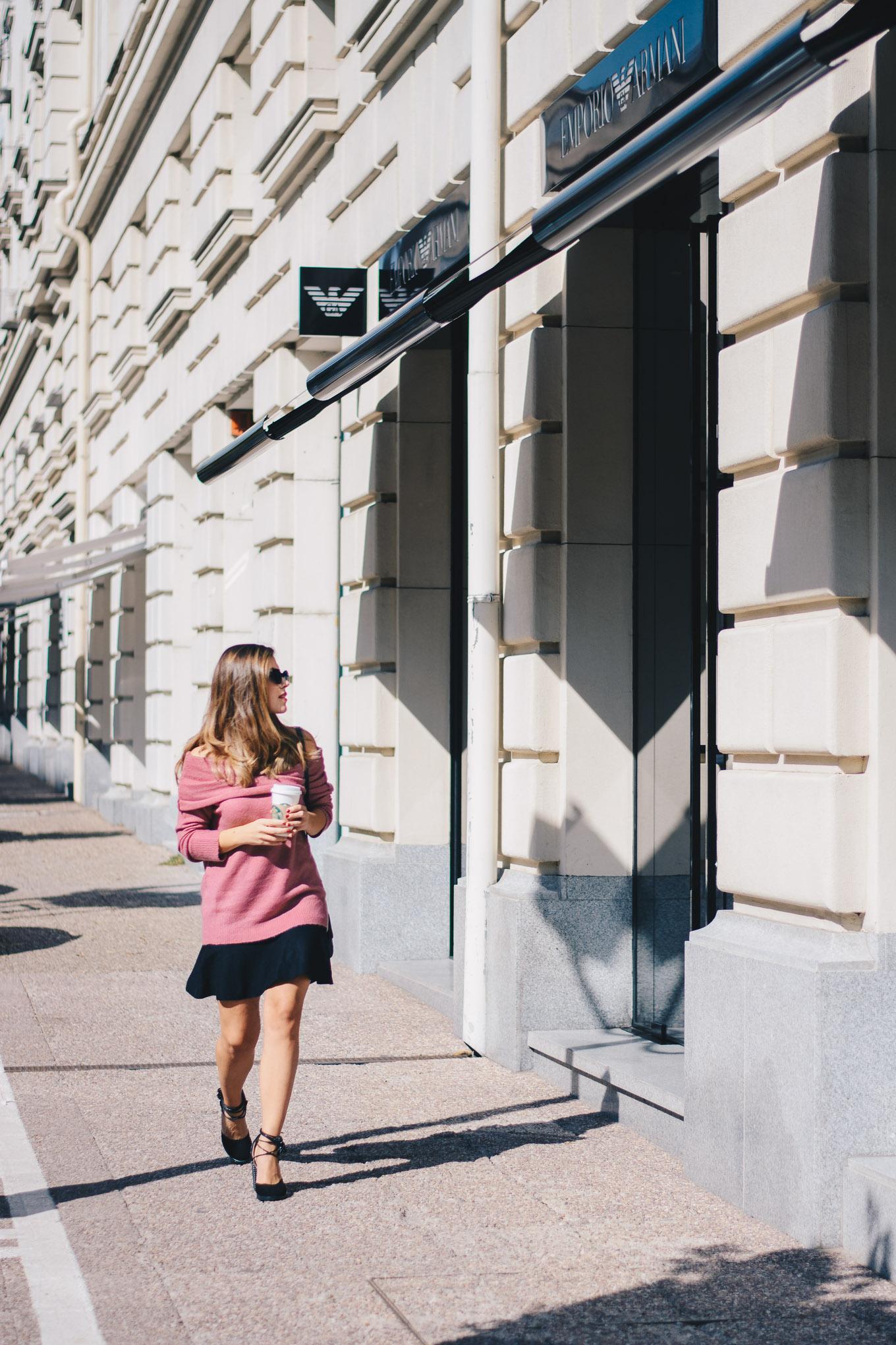 Bulgarian street style blogger