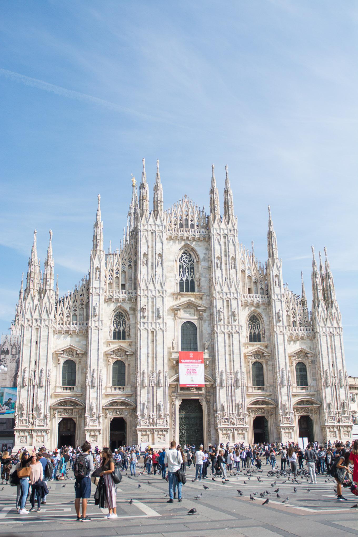Duomo Milan 2017