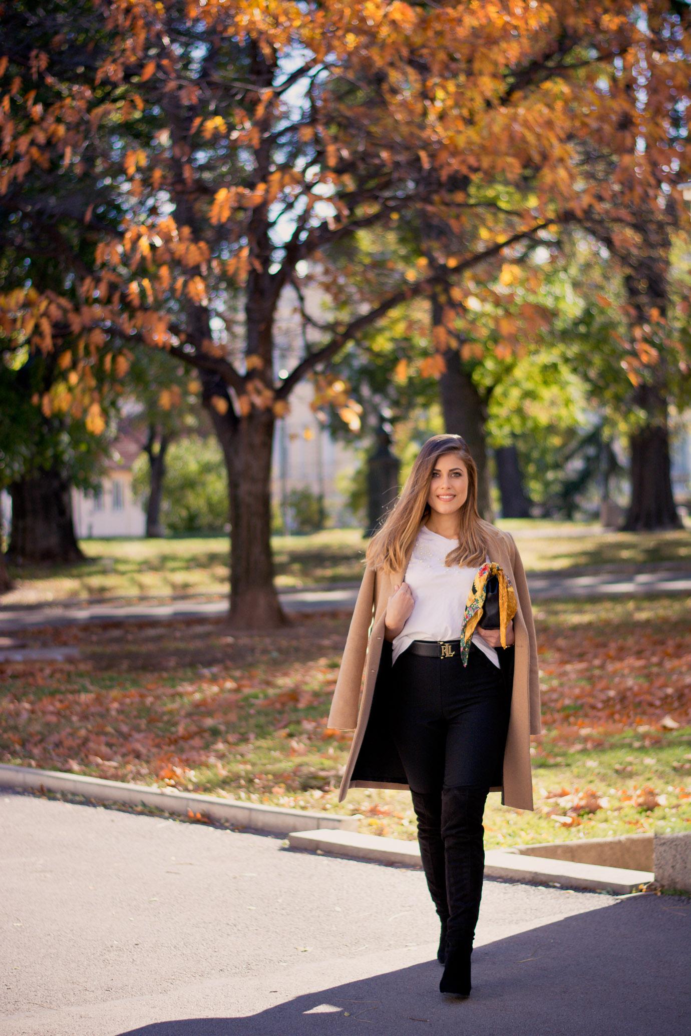 Estee lauder Autumn LA make up look