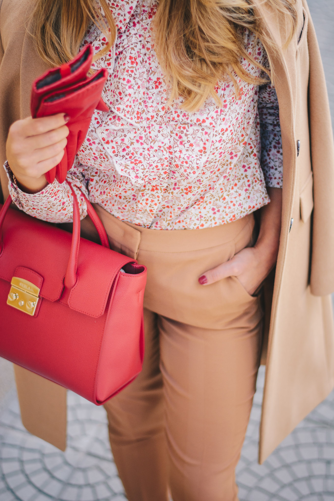 Favorite way to style red benetton