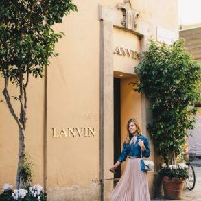 Lanvin - Fashion week - Седмицата на модата в Милано