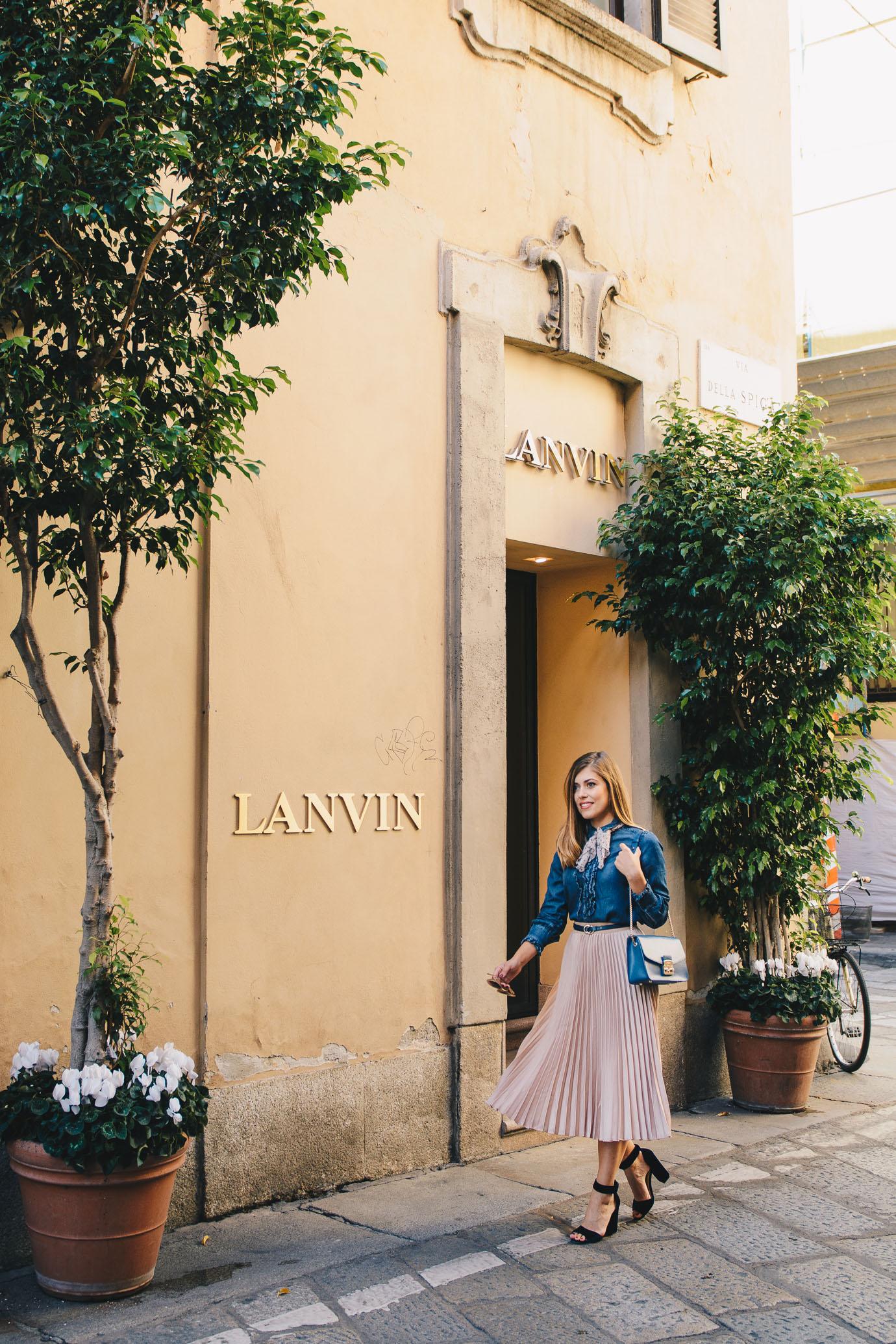 Lanvin Fashion week