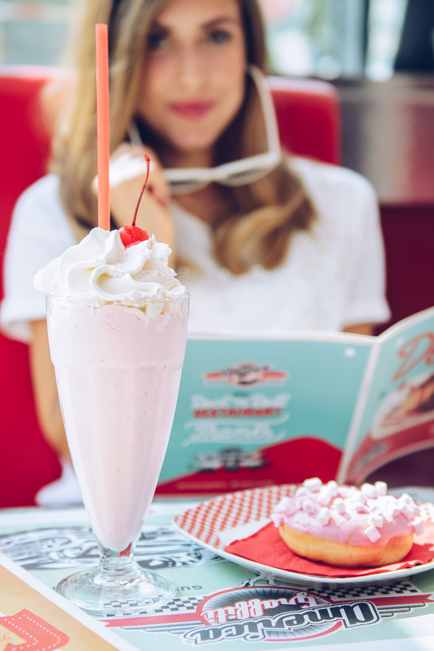 Milk Shake retro look
