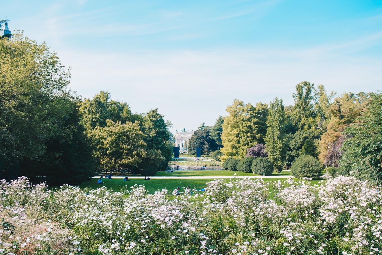 Parco sempione gardens