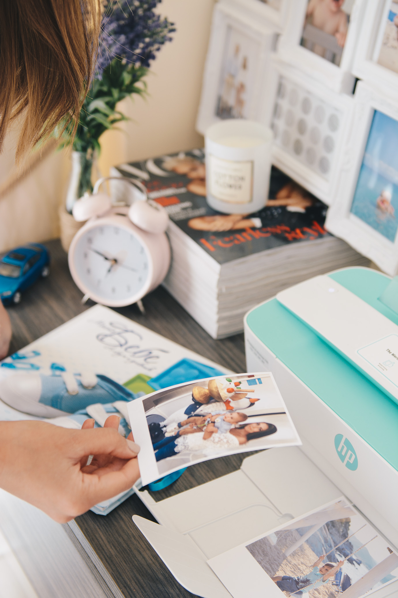 Printing photos with HP Deskjet