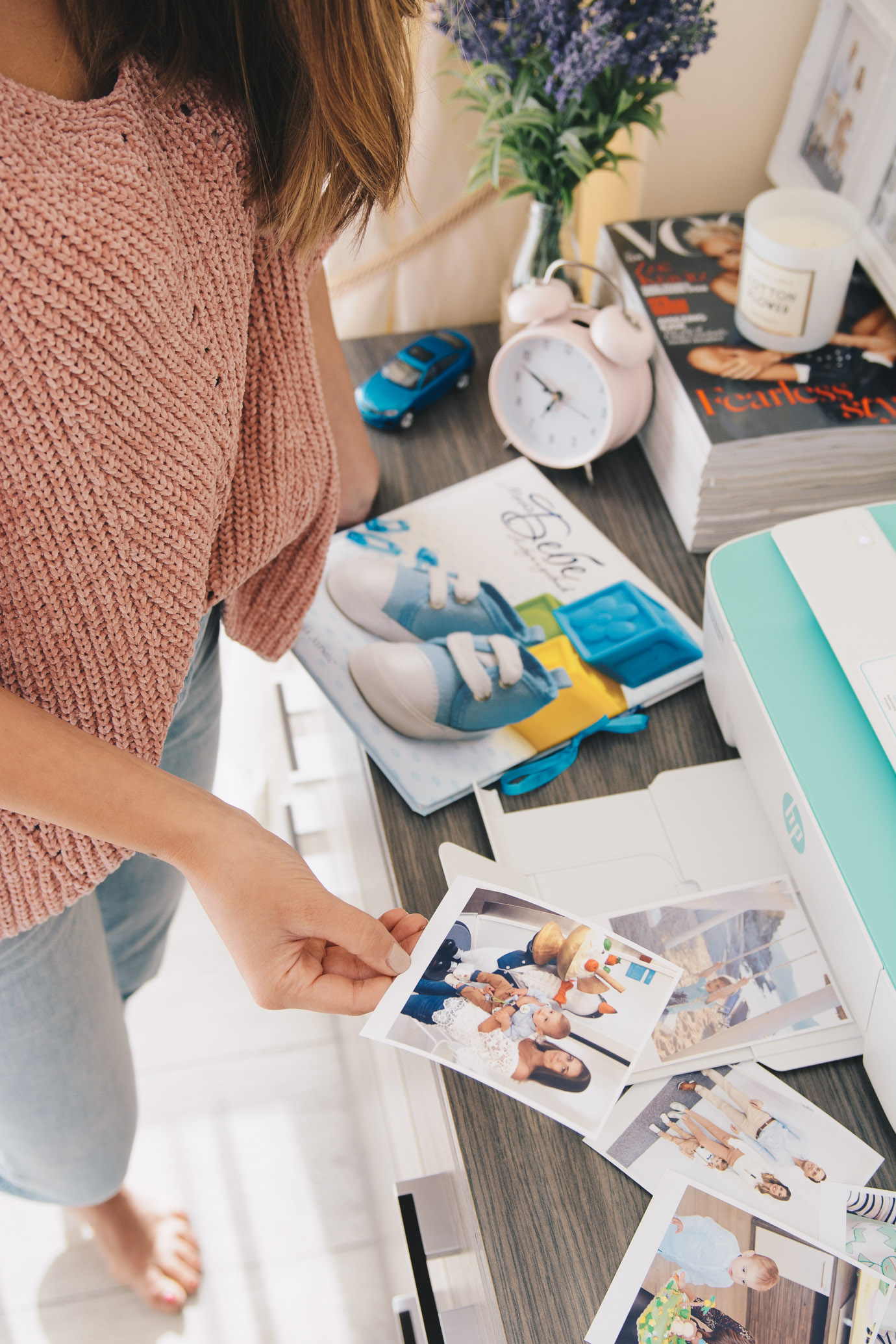 Printing photos with HP