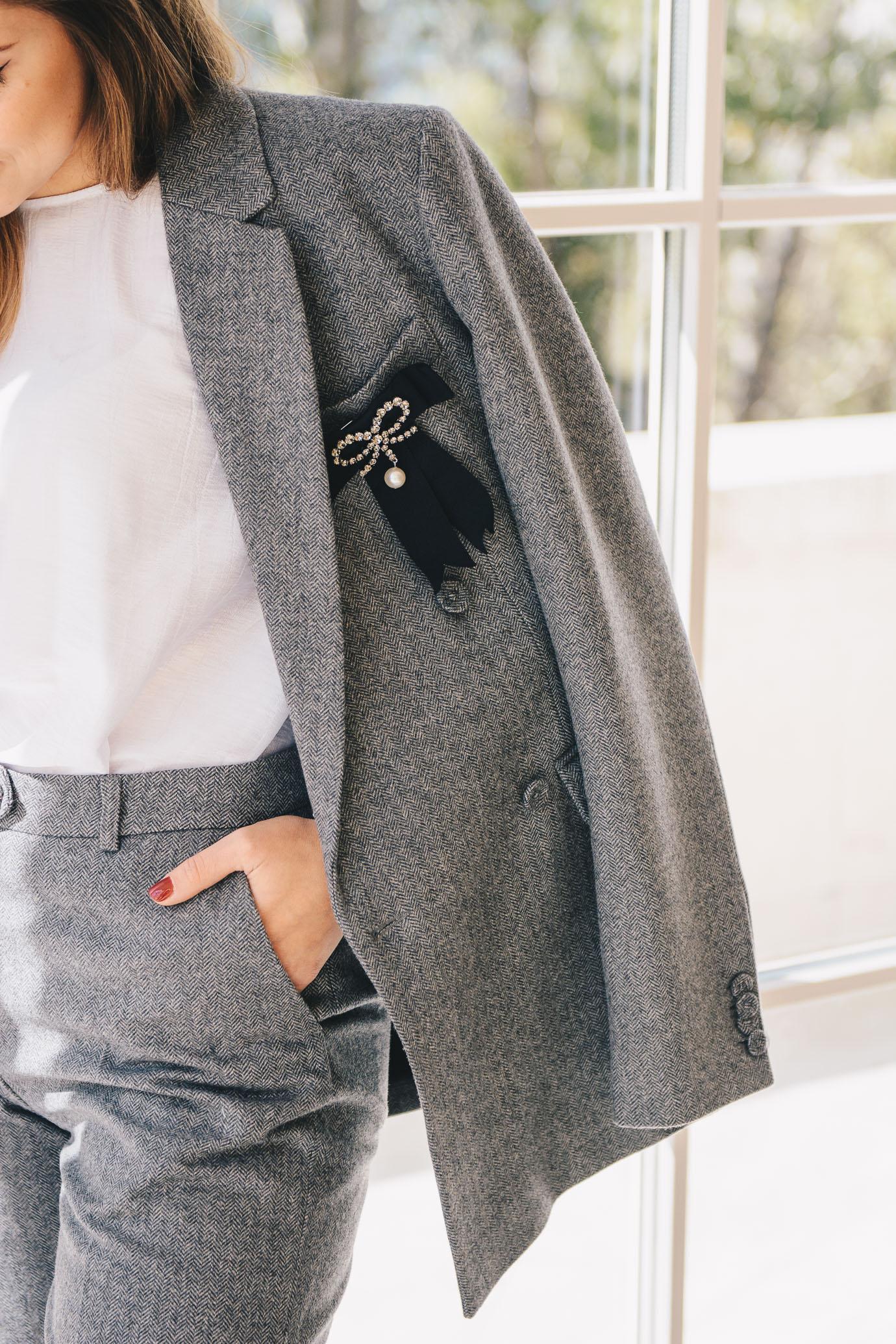 H&M Erdem suit