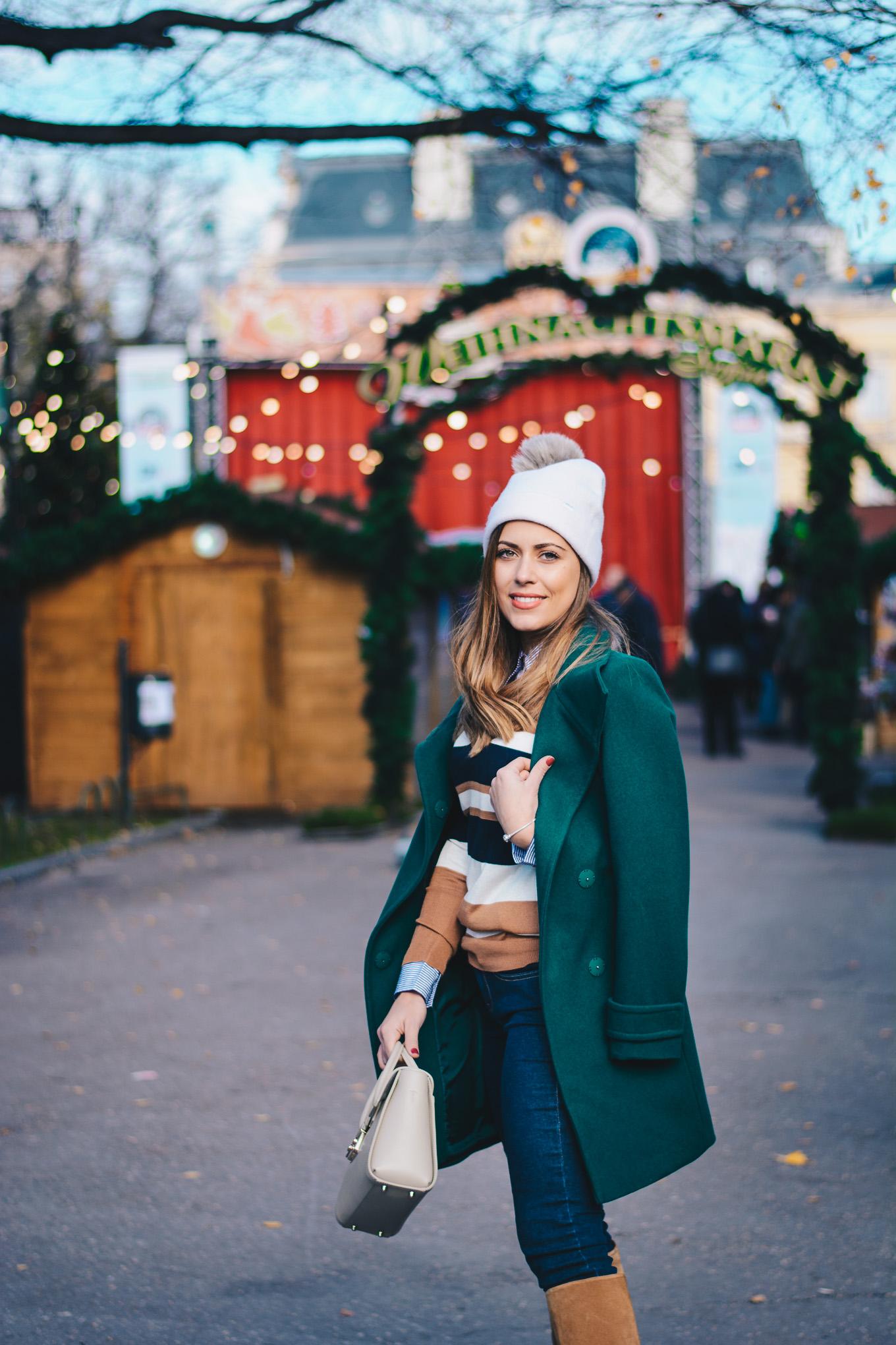 Модната блогърка Денина Мартин
