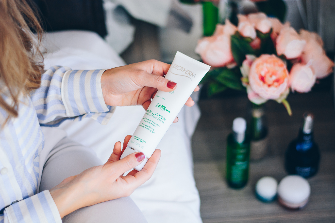 Biotherm дълбоко почистващ гел depolluting cleanser