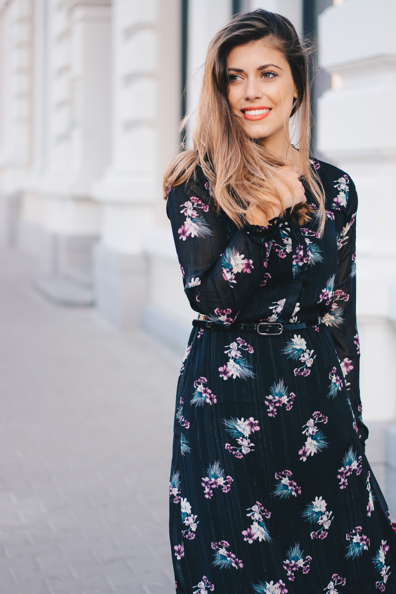 Blogger favorite floral dress