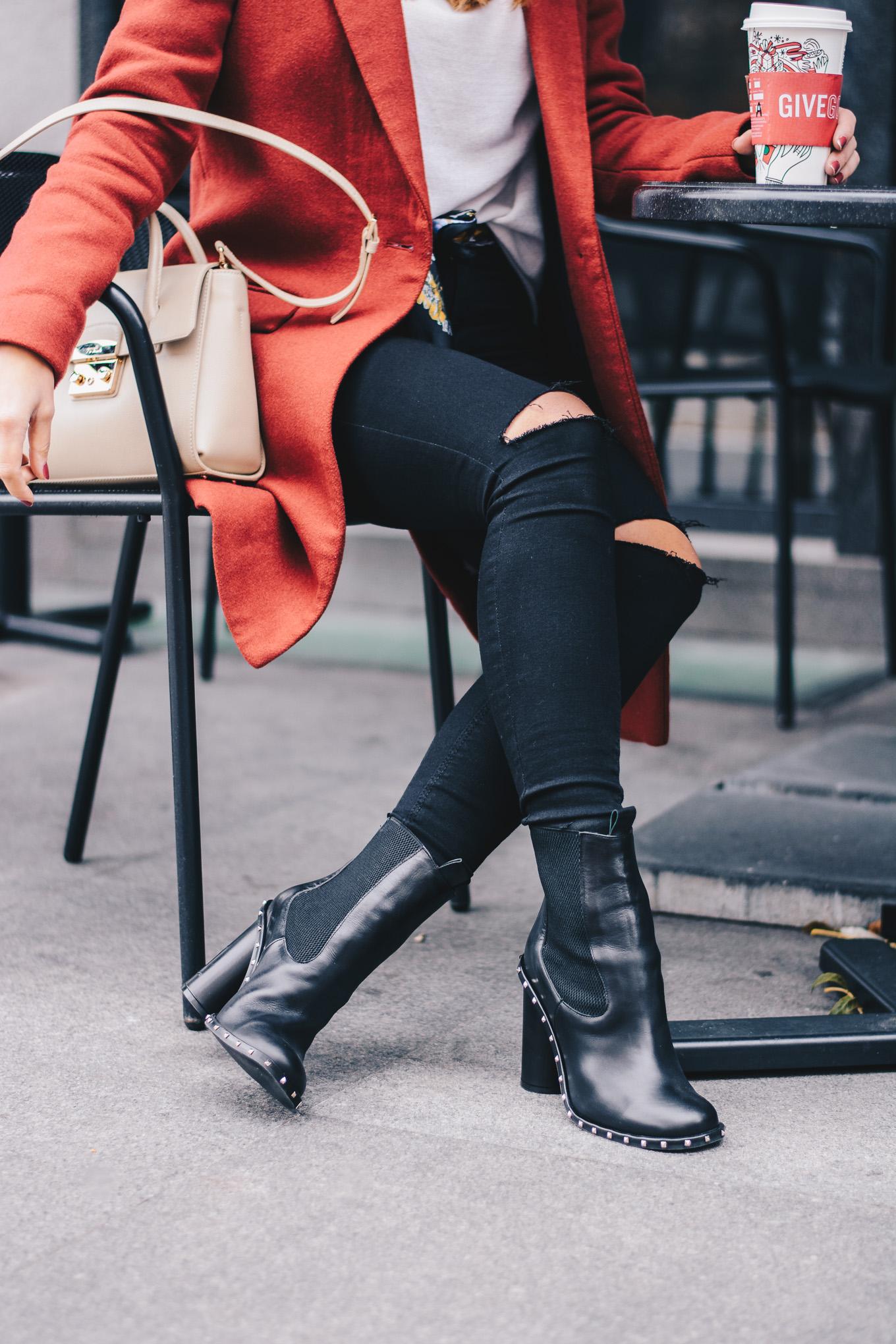 Ingiliz Selma soft leather ankle boots
