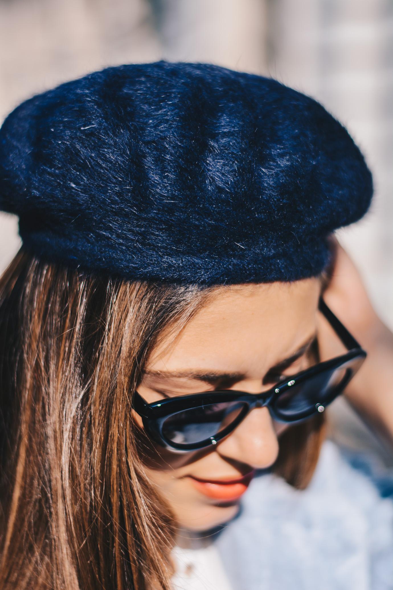 Pronta navy beret