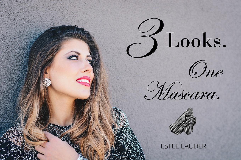 3 looks one mascara beauty