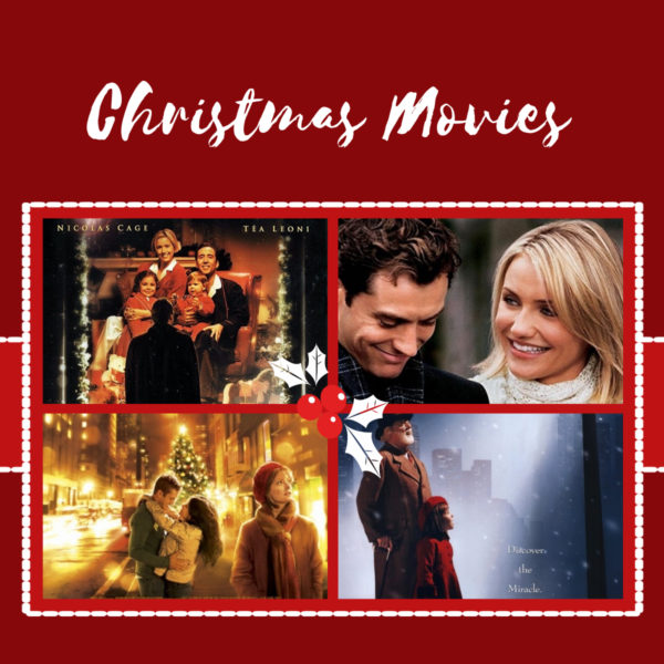 Christmas Movies I will be watching this Holiday Season