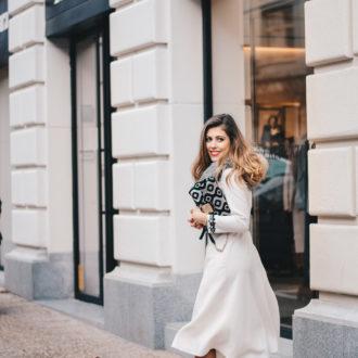 Fashion blogger Max Mara Furla