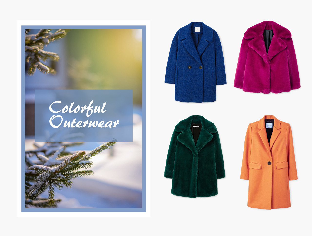 Colorful Outerwear 2018