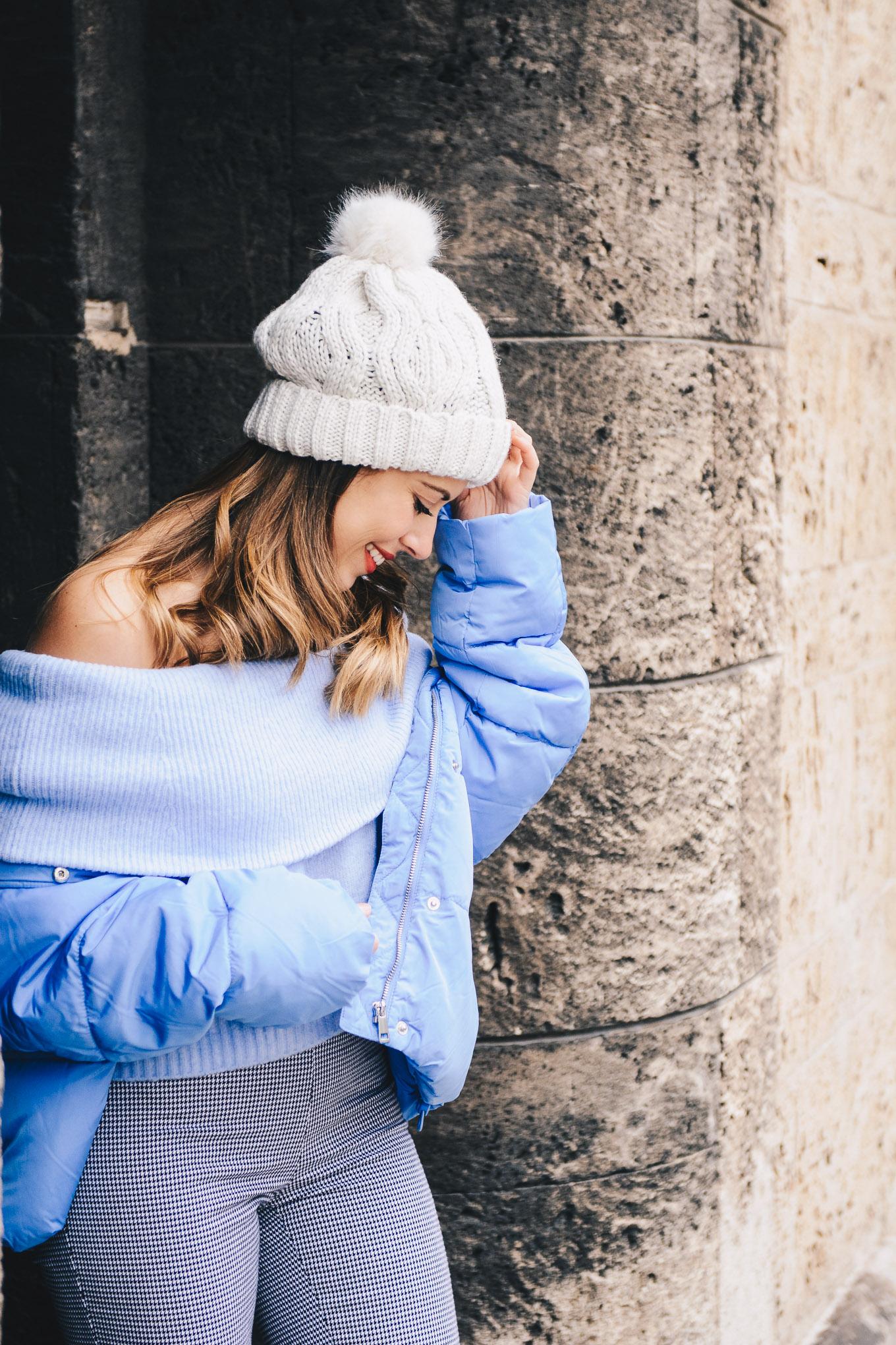 Cozy blue jacket