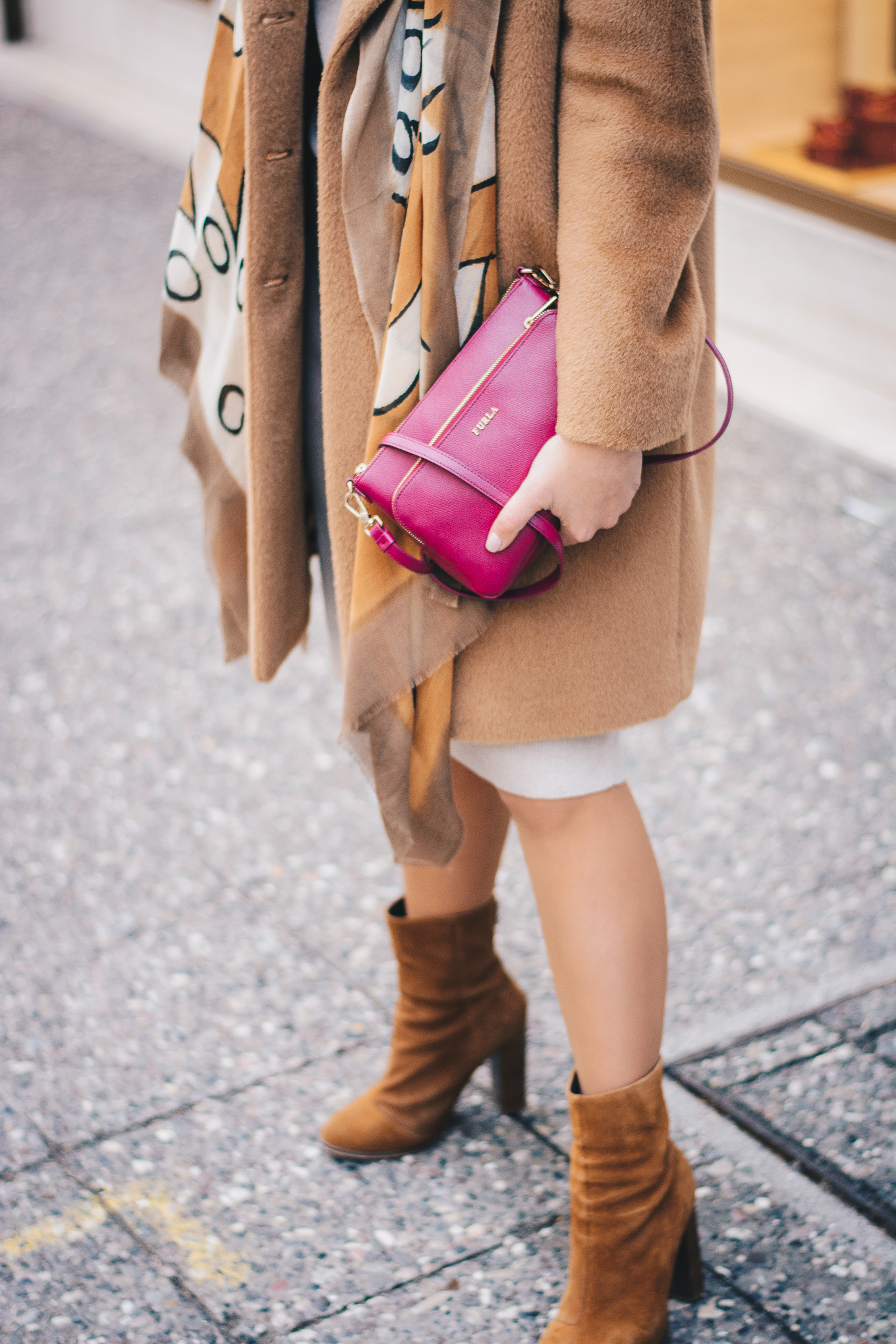 Cozy winter outfit furla