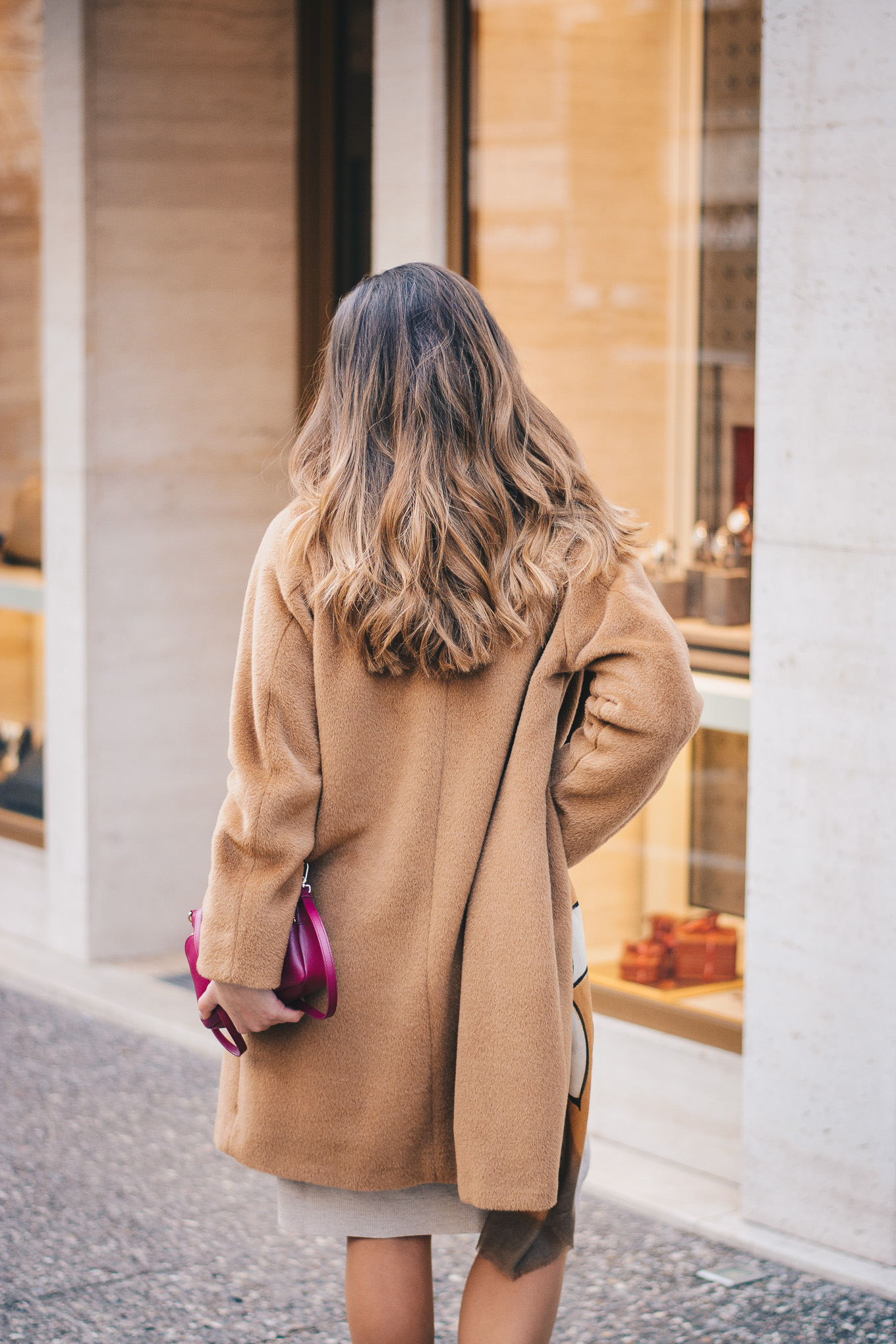 Favorite camel coat