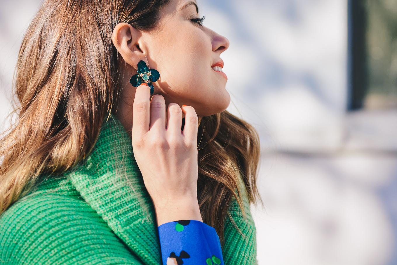 HM earrings