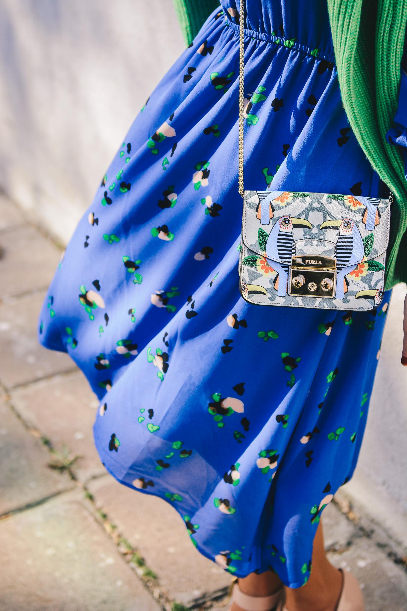 My girly furla handbag