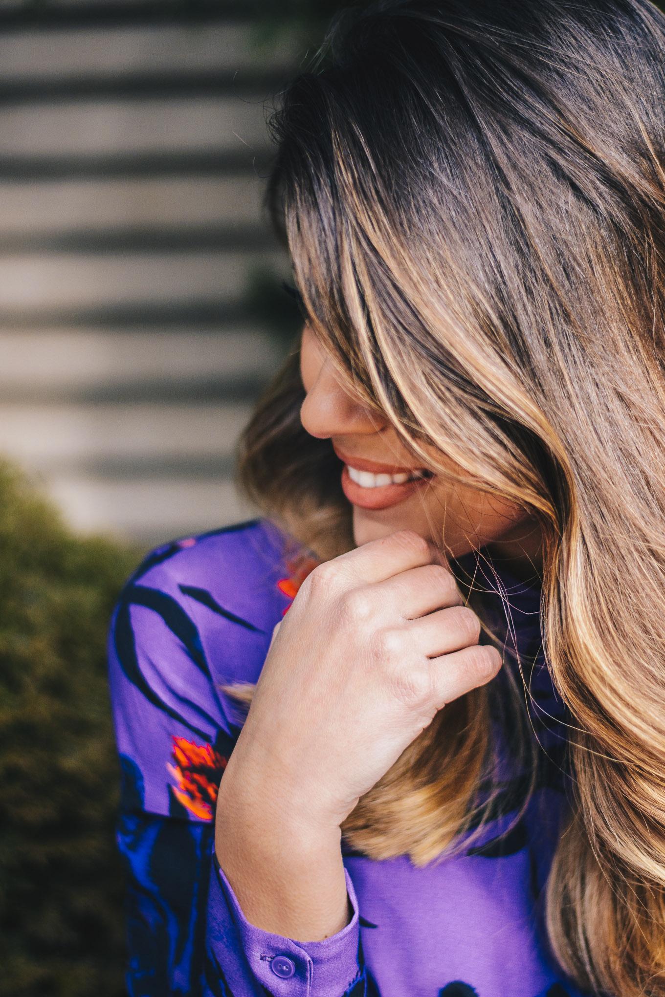 Sexy hair blogger