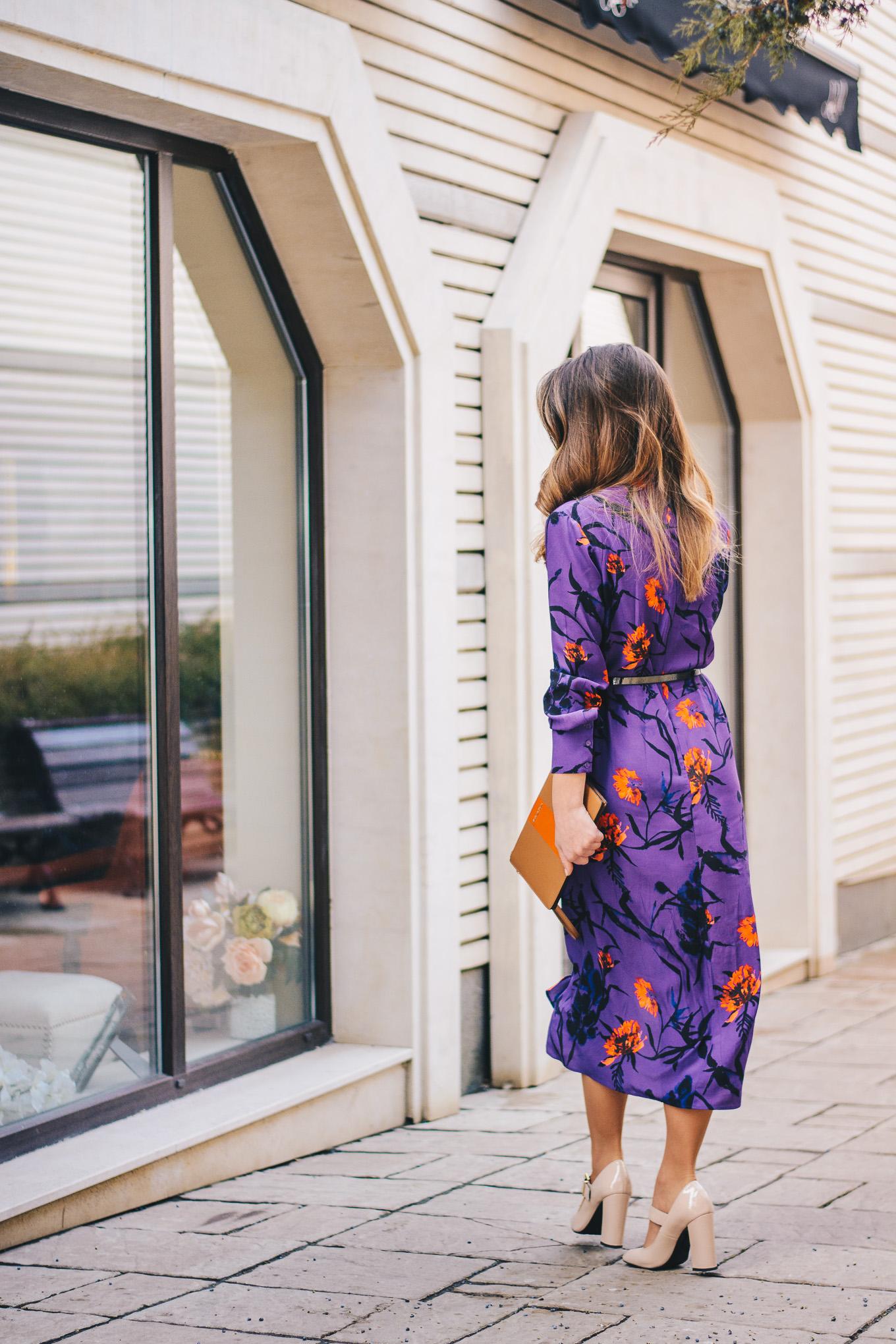 Ultra violet dress 2018
