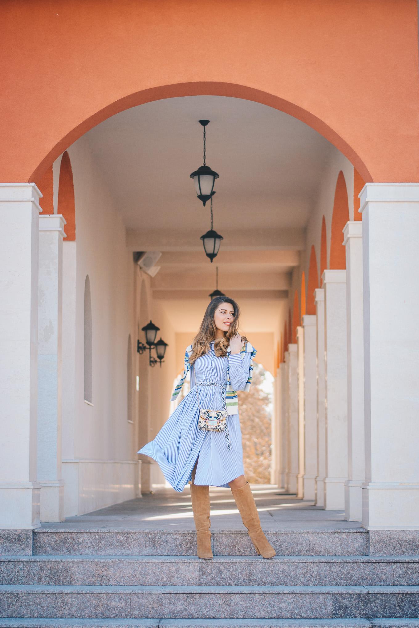Weekend Max Mara outfit Furla handbag
