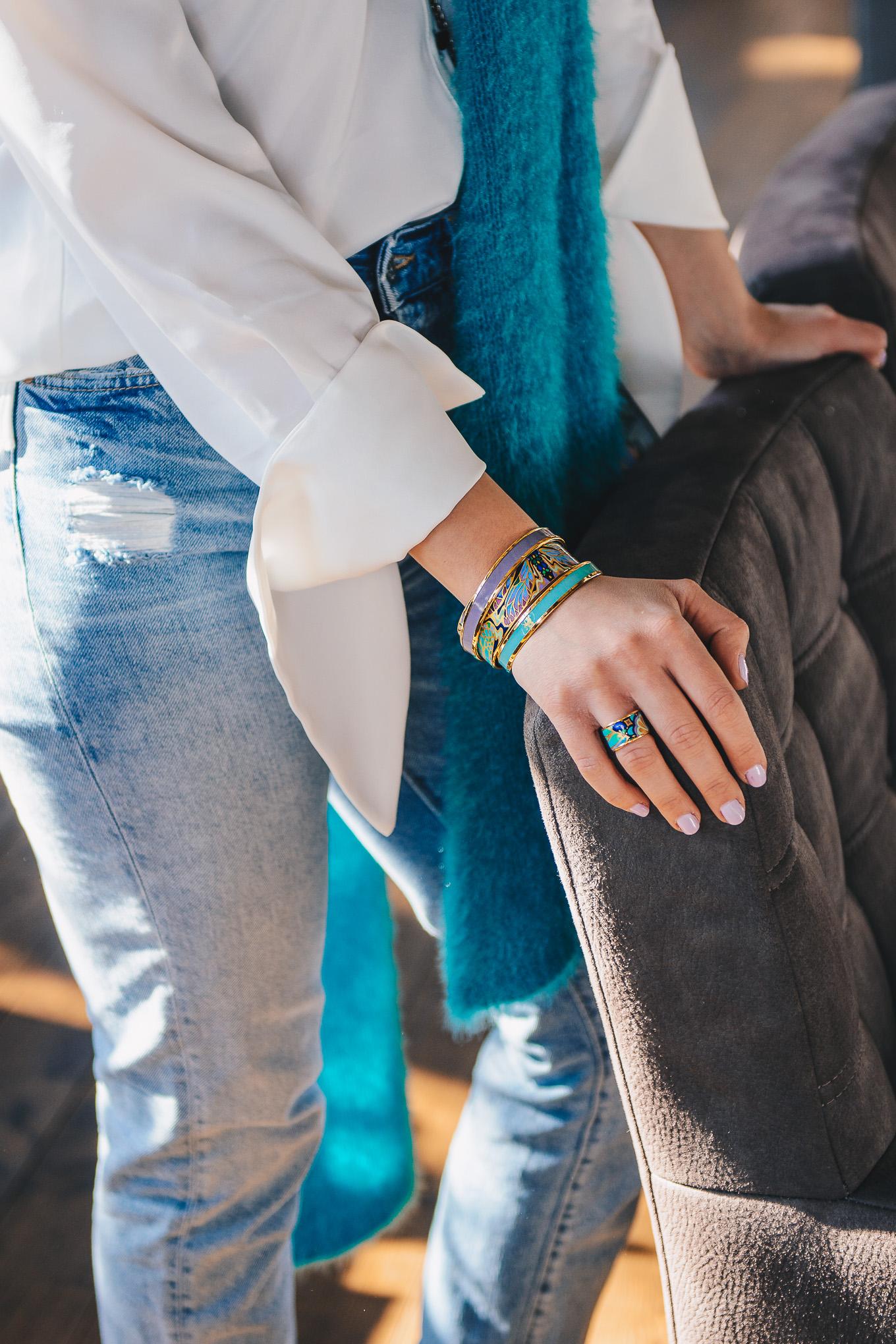 Freywille monochrome bangles