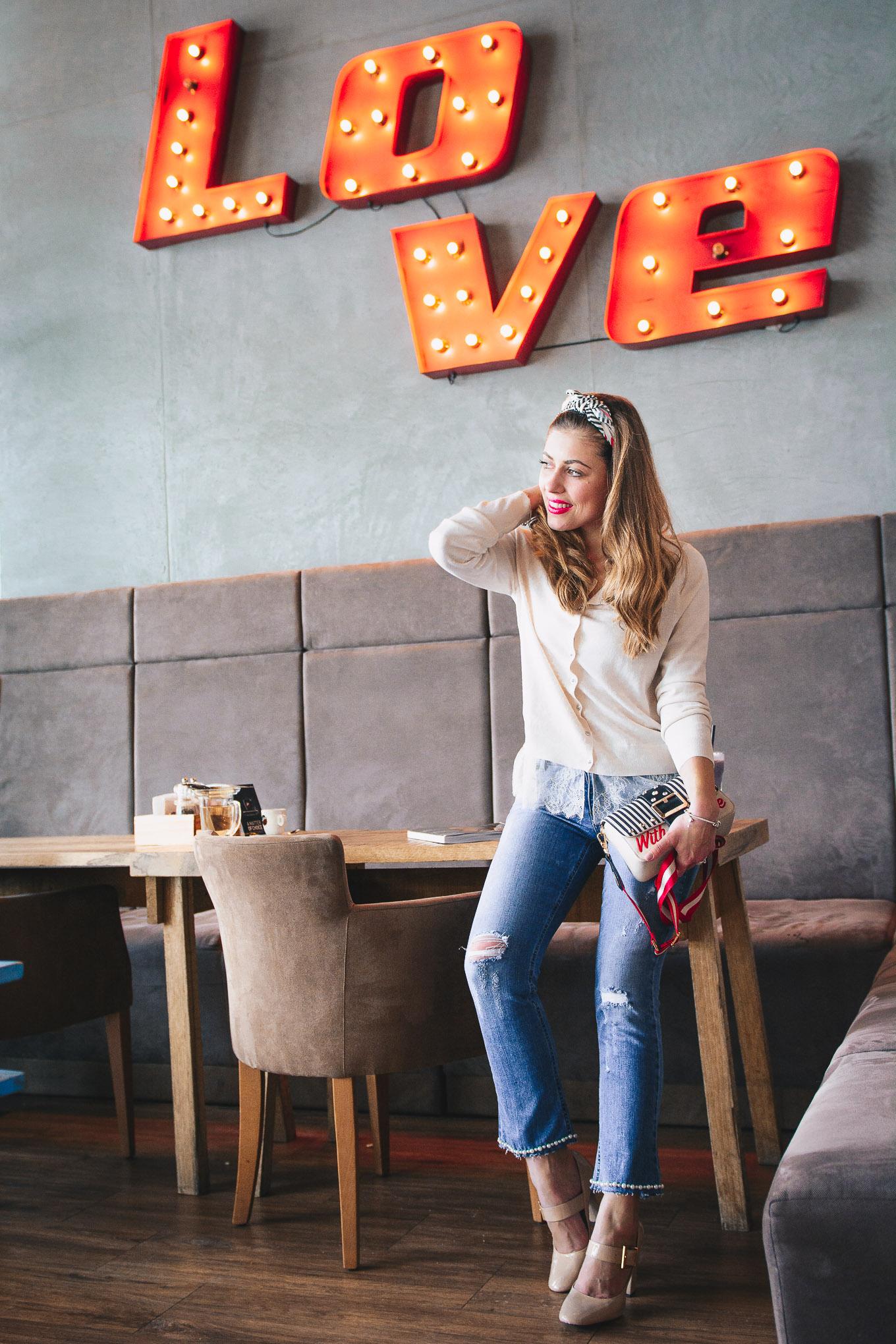 Soho cafe late afternoon mood