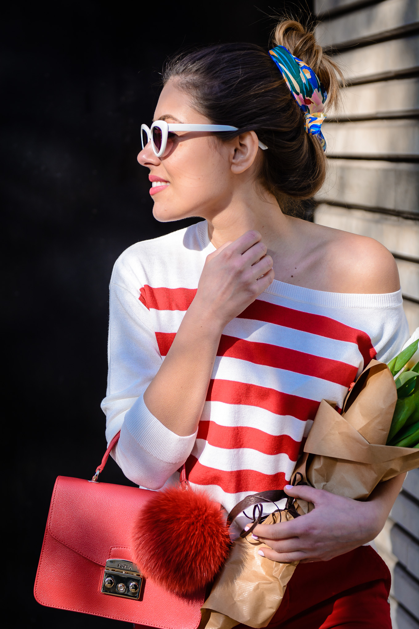 Spring fashion blogger