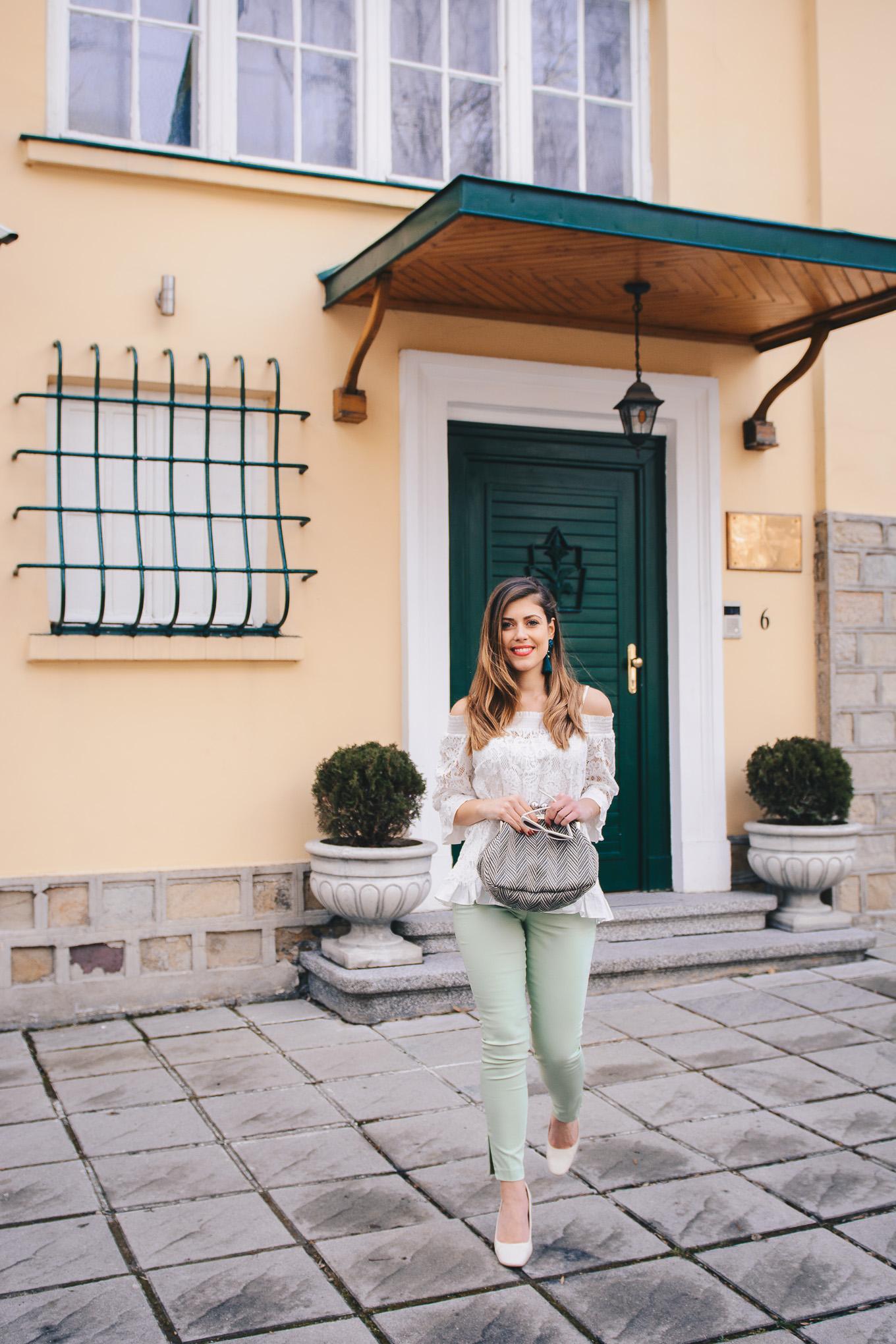 Denina Martin fashion blogger benetton