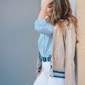 Esprit jacket - the return of glitter