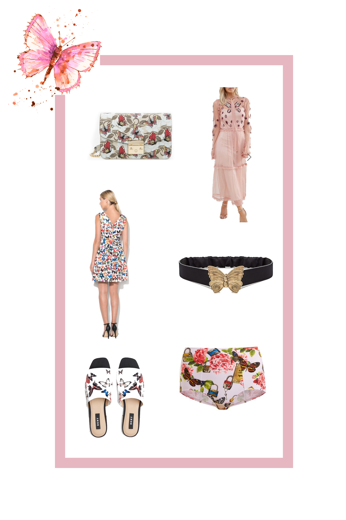 pink shopping collection
