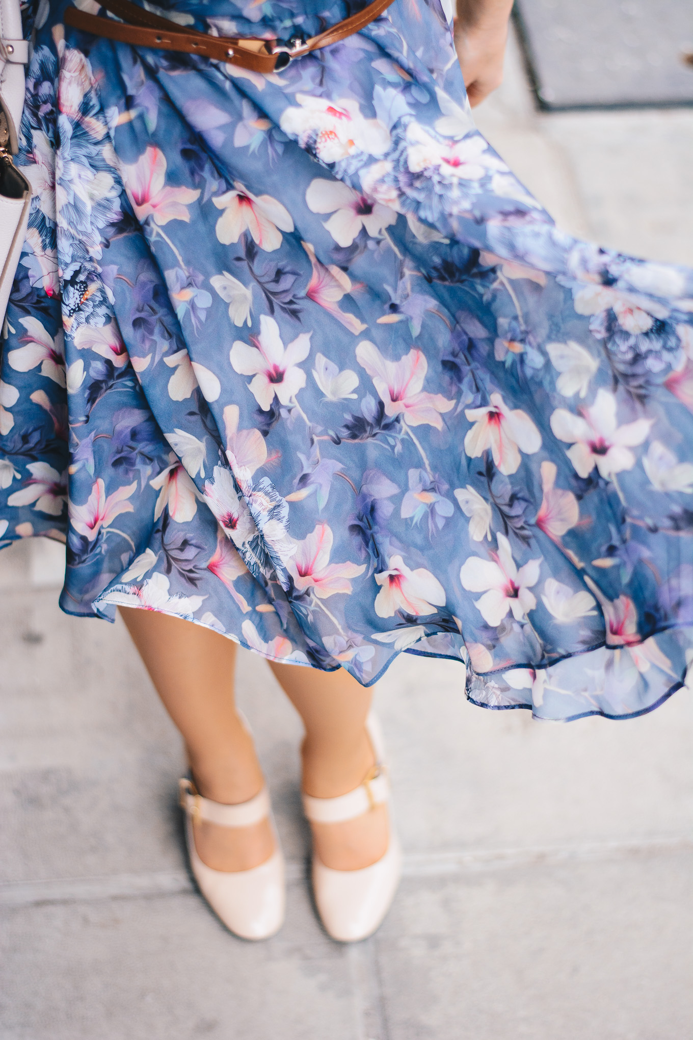 twirl my floral dress