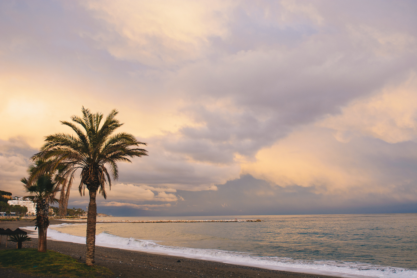 After storm beach malaga