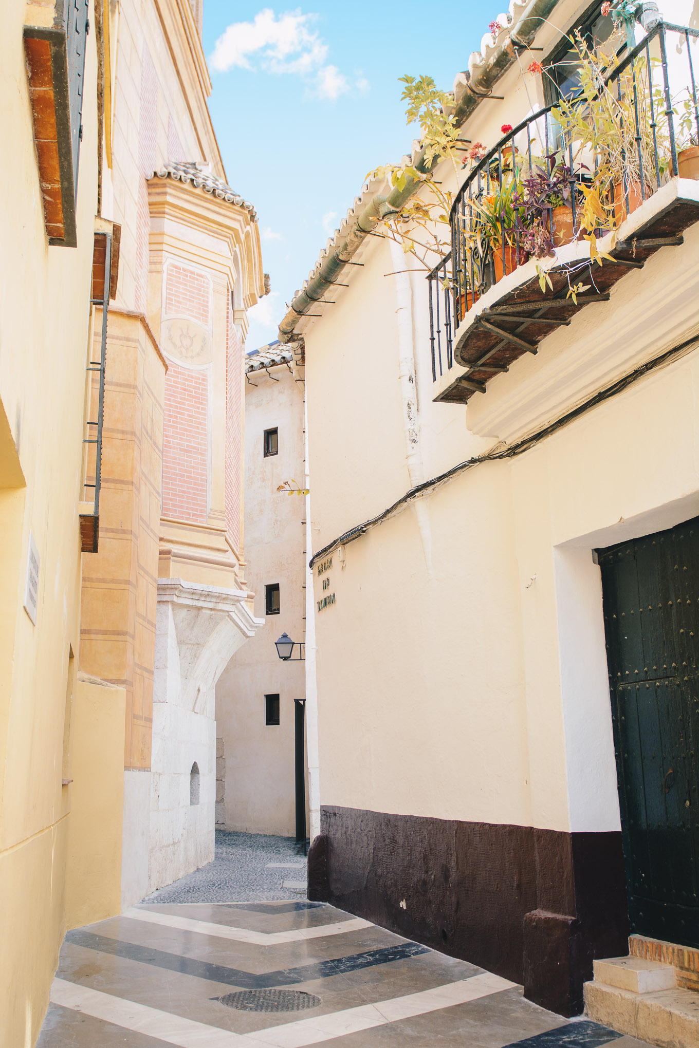 Beautiful streets of Malaga