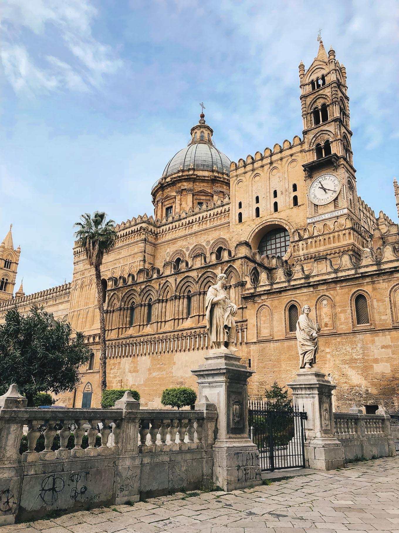 Catedralle di Palermo Sicily