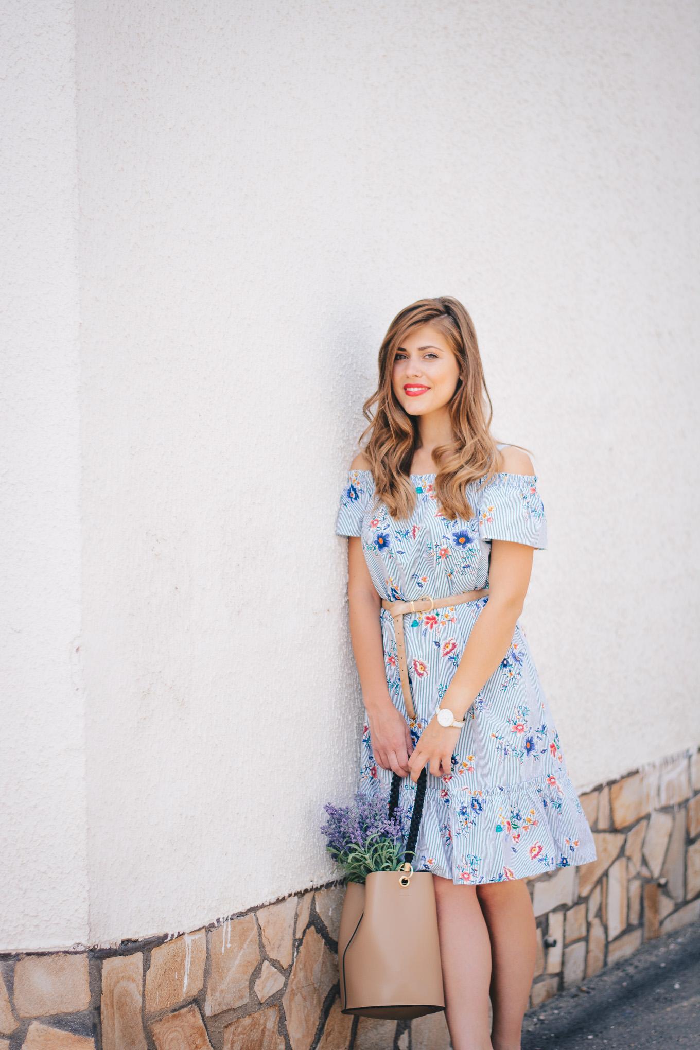 Floral summer dress lc waikiki