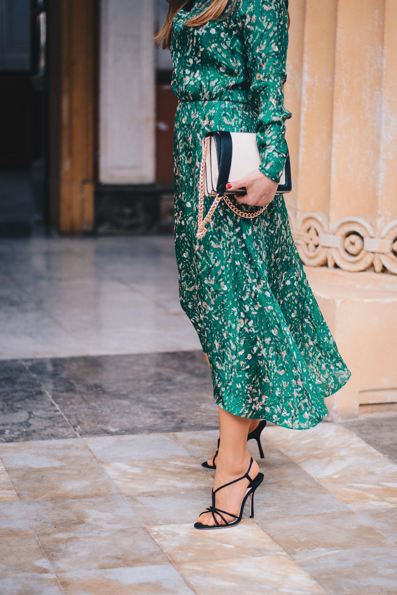 HM Conscious Exclusive organic silk dress