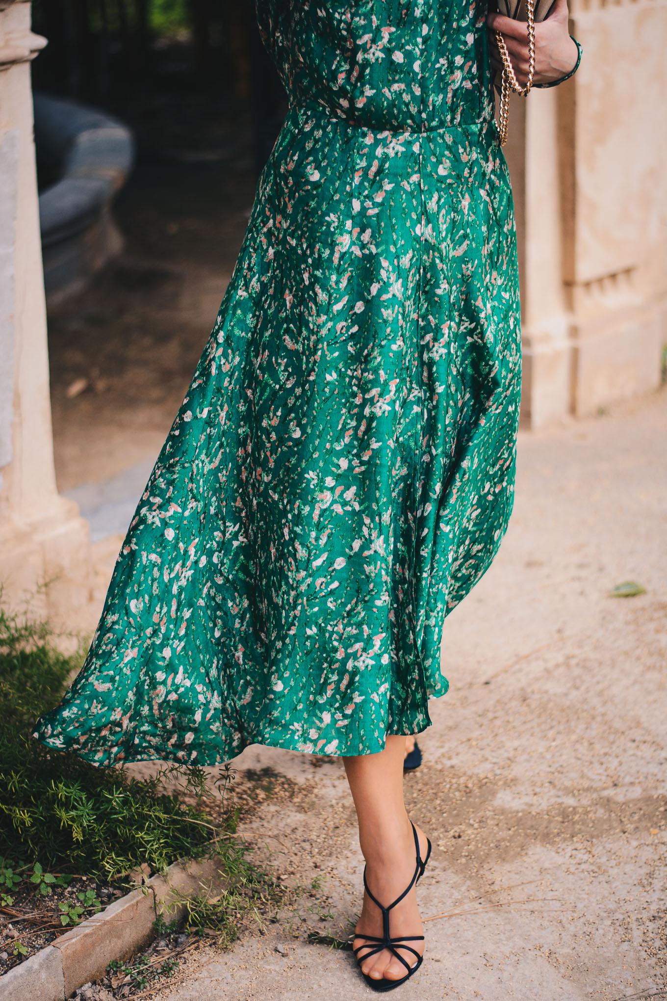 HM organic silk dress