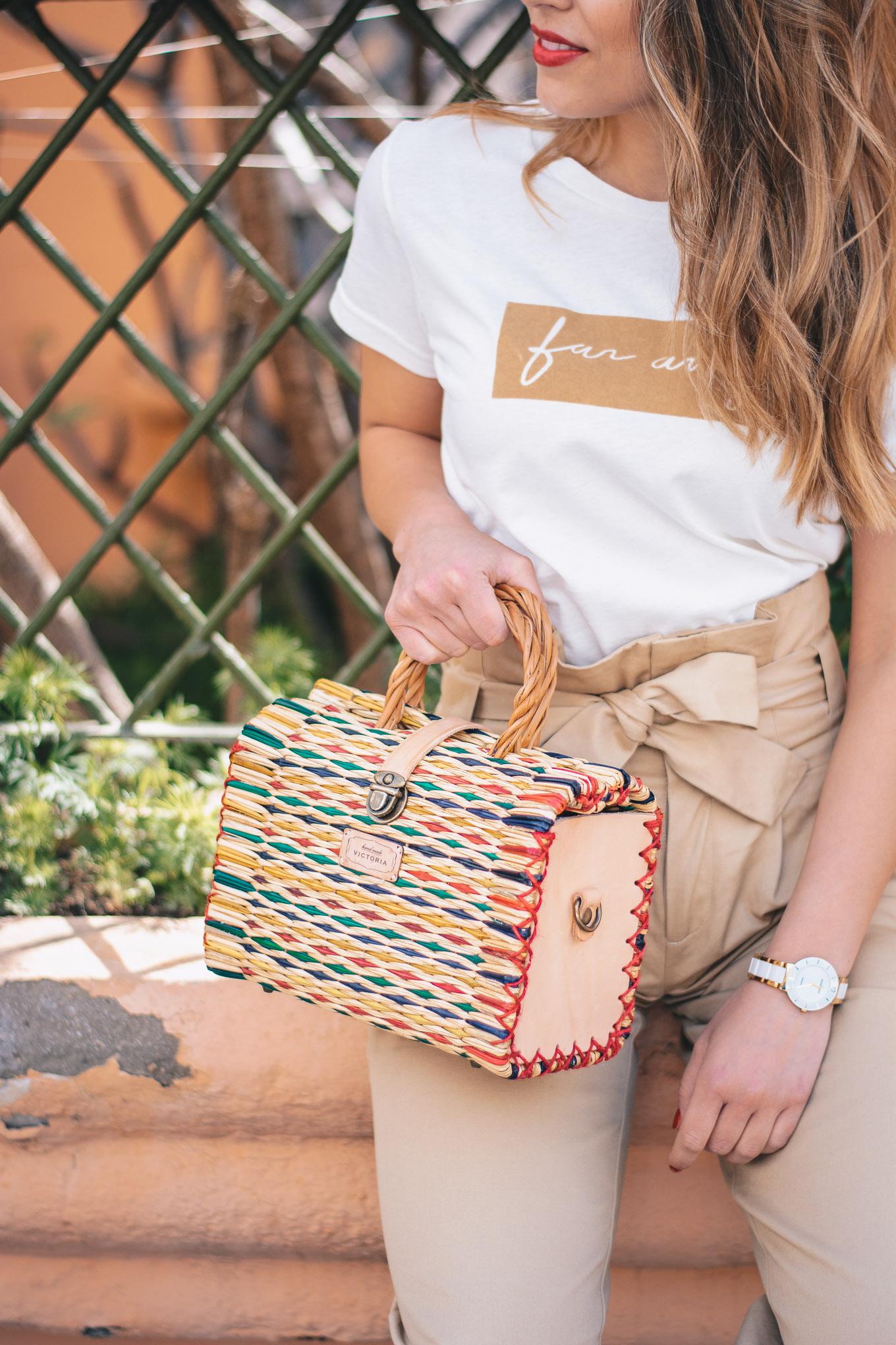 Handmade Victoria bag