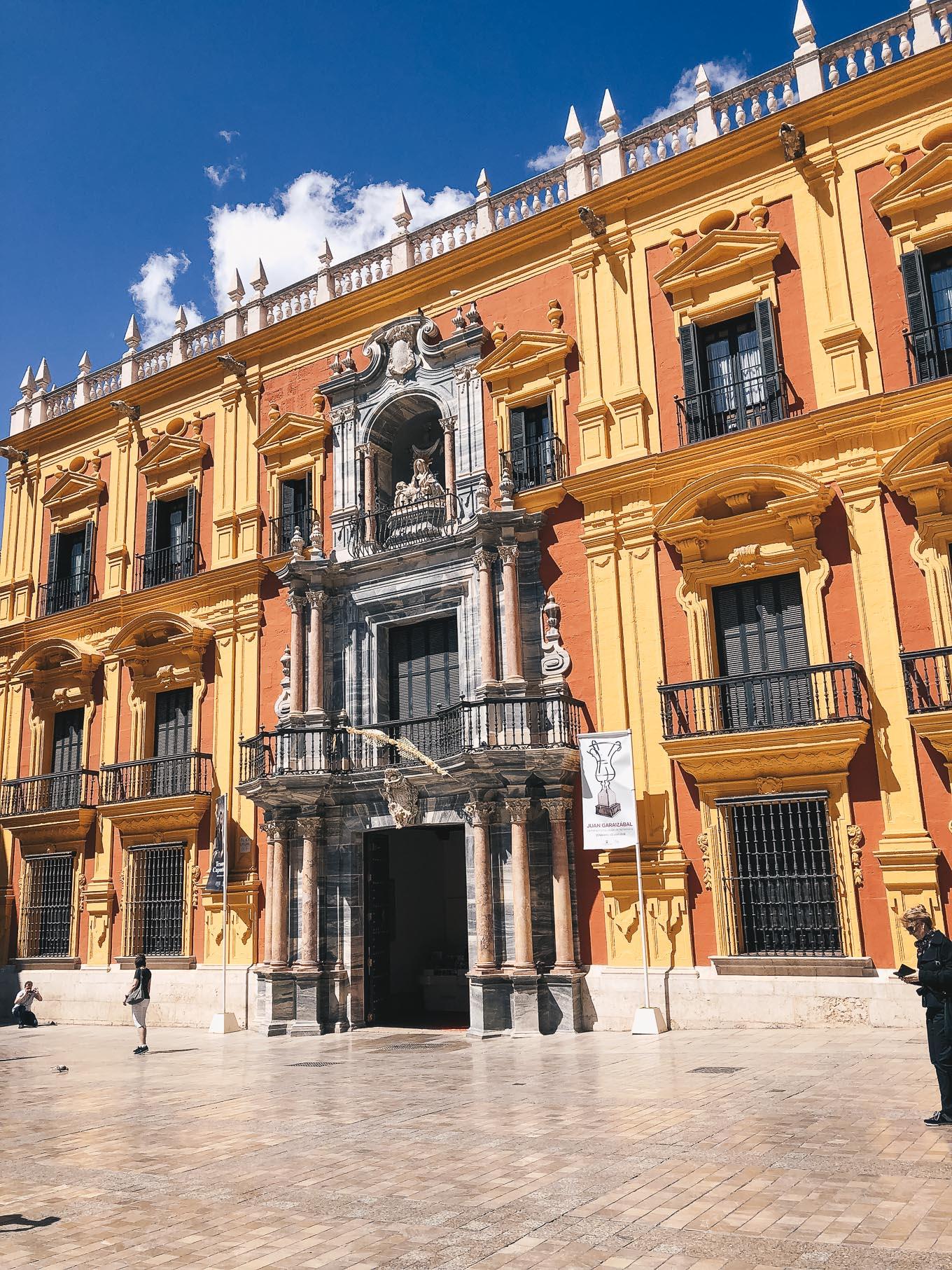 Malaga architecture bulding